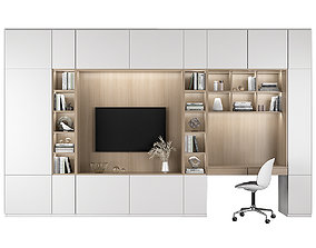 3D TV Shelf and workplace 72