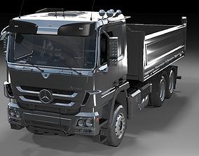 Mercedes Benz Actros Tipper 3D