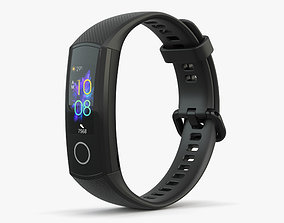 3D model Honor Band 5 Black