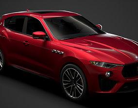 3D Maserati Levante Trofeo Launch Edition 2020