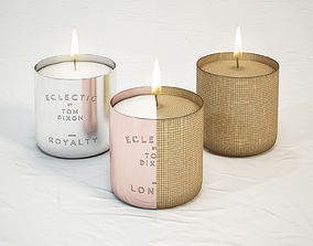 3D model TOM DIXON Eclectic Scented Candles