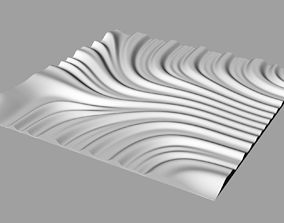Tileable 3D Relief SB27 for CNC