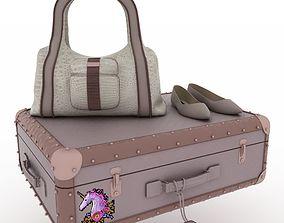3D model apparel Luggage