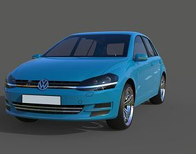 golf 3D model VW Golf 7