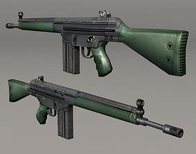 Lowpoly G3 3D model