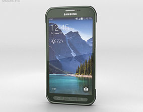 3D Samsung Galaxy S5 Active Camo Green