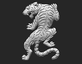 3D printable model Climbing Tiger