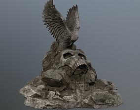 skull gate 3D asset