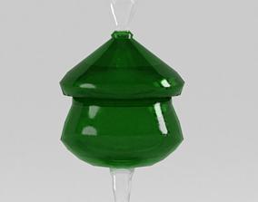 Low-poly Bon-bon Dish 3D model