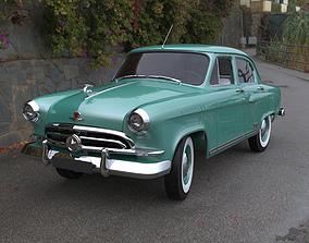 3D model 1957 GAZ M 21 Volga