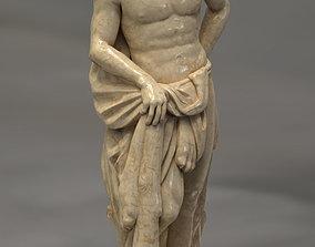 Hercules Greek Statue 3D asset