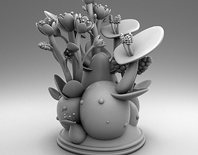 3D printable model Decorate plant