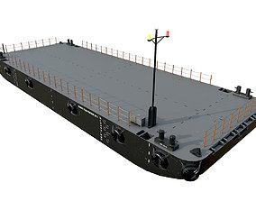 DAMEN STAN PONTOON 30x11 3D asset