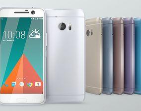 HTC 10 Cellphone 3D