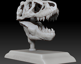 Tarbosaurus Skull 3D Printable Model
