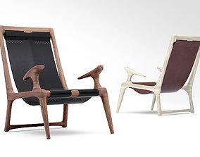 3D Fernweh Woodworking Sling armchair