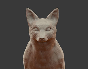 3D print model wild Fox sculpture