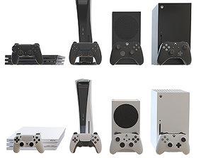 3D asset Games Consol Pack