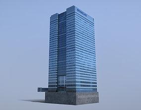 London Buiding Barclays 3D model