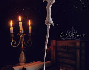 VOLDEMORT WAND - HARRY POTTER 3D printable model