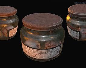 3D asset Specimen Jar