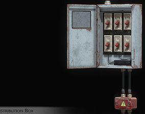 3D asset Distribution Box