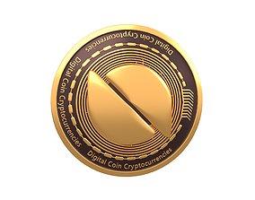 Ontology Coin v3 001 3D model
