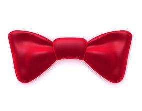 Bow tie 3D asset