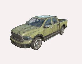Abandoned Car 61a 3D model