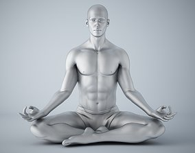 3D print model Man yoga 001