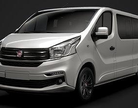 3D Fiat Talento Minibus SpaceClass LWB 2020