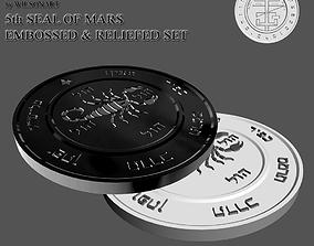 5th Seal of Mars 3D printable model