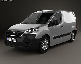 Peugeot Partner Van 2015 france 3D model