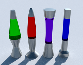 Lava Lamps 3D model