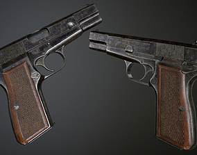 Browning HP 3D model