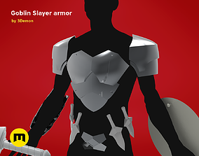 3D print model Goblin Slayer Armor and Weapons