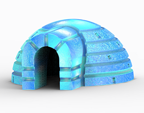 Igloo Ice House 3D print model