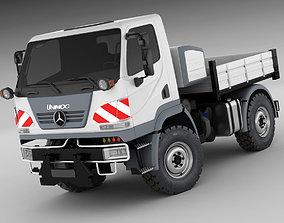 3D model Mercedes Unimog U20