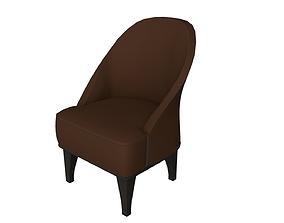 PBR armchair 3D model pbr