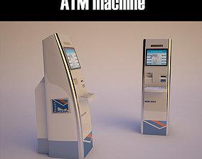 3D asset self service atm machine