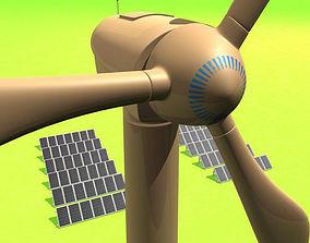 3D model Green Energy