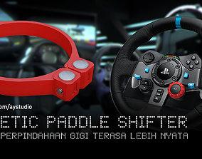 Magnetic Paddle Shifter for Logitech G29 3D print model