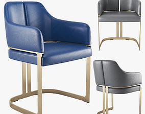 Atelier Purcell Padus Dining Side Chair 3D