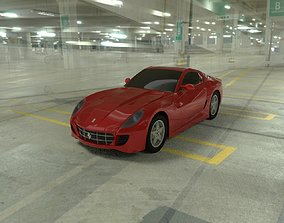 Ferrari 599 GTB Fiorano carro 3D model