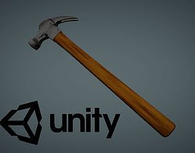 Hammer Low Poly 1 3D asset