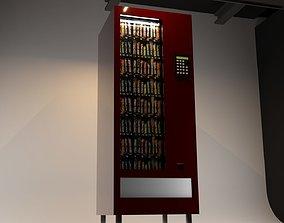 3D model CHOCOLATE SNACK VENDING MACHINE