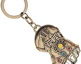 3D printable model Keychain Thanos Gauntlet