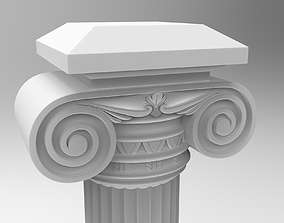 ancient pillar 3D model Column