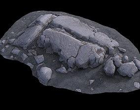 3D Volcanic Rock V15