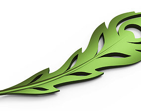 3D print model Peacock feather